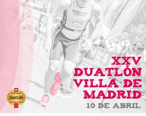 Cartel Duatlón Villa de Madrid