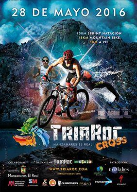 Cartel Triaroc Triatlón Sprint Cros 2016