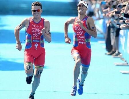 Sprint de Noya y Mola en triatlón