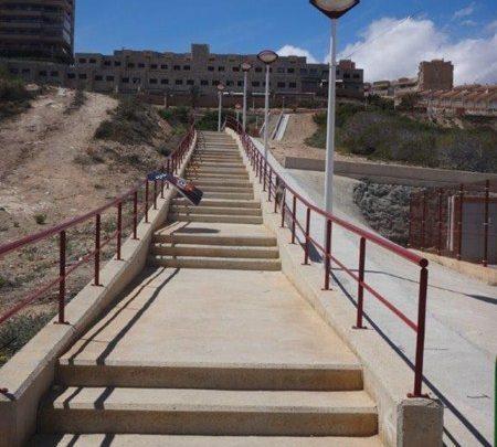 Escalera del Triatlón de Elche
