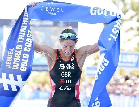 Helen Jenkins ganando la Serie Mundial de Gold Coast