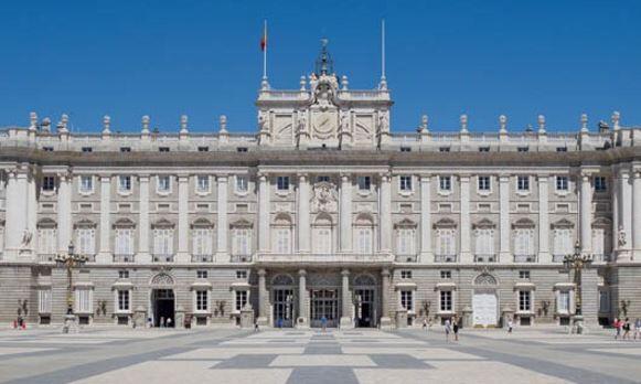 Palacio Real de Madrid, meta Copa de Europa de Triatlón