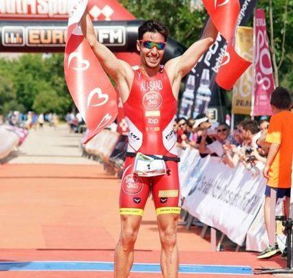 Samer Ali-Saad consigue su novena victoria en el Triatlón de Sevilla
