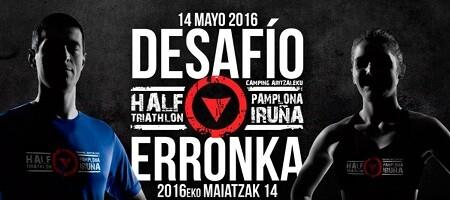 Cartel Half Triathlon Pamplona