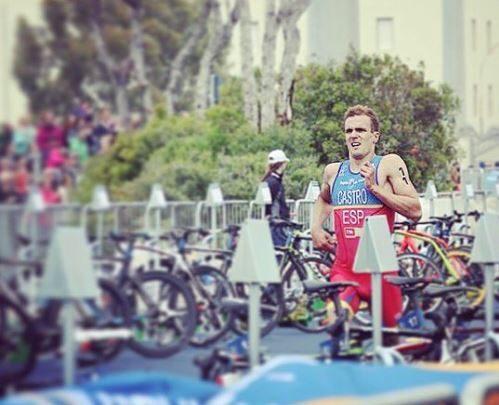 David Castro Campeón de España de Triatlón sprint 2016