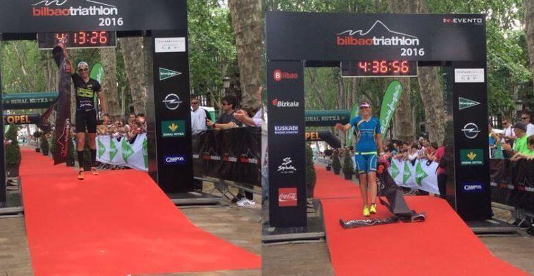 Ganadores Bilbao Triathlon 2016