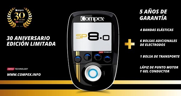 Compex sp8.0 Gold Edition