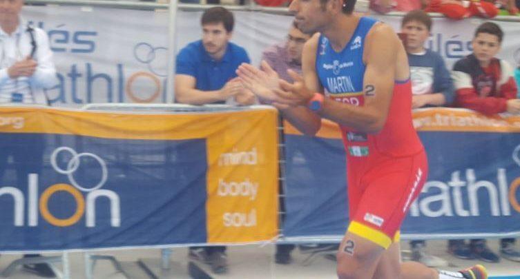 Emilio Martín plata en el Campeonato del Mundo de Duatlón en Aviles