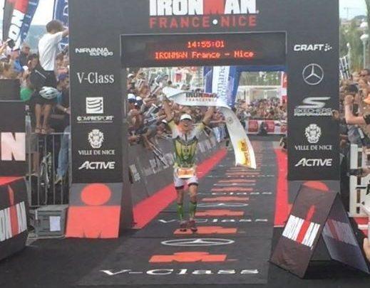 Victor Corral gana Ironman Niza 2016