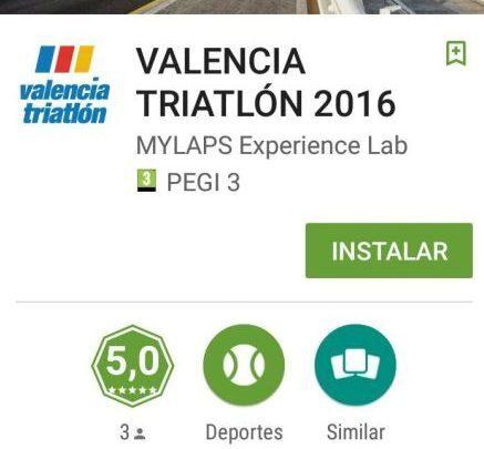 App de Valencia Triatlón