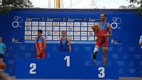 Photo of 5 medals for Spain in the Paratriathlon World Championship