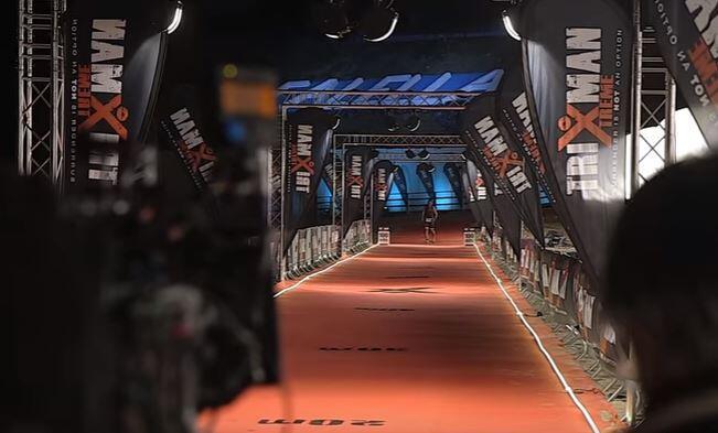 Making Off, pelicula triatlon 100 metros