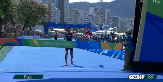 Alistair Brownlee oro en los Juegos Olímpicos de Rio