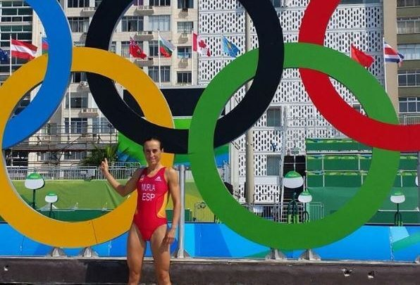 Aihoa Murua mit seiner Verletzung in Rio Janeiro