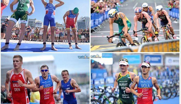 Los triatletas más rápidos de río