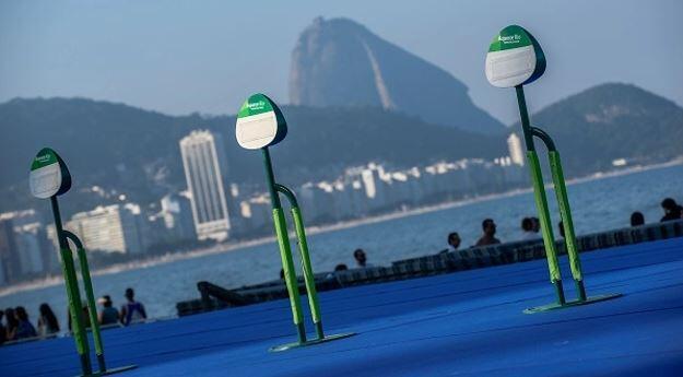 Zona transición triatlon Juegos Olímpicos Río