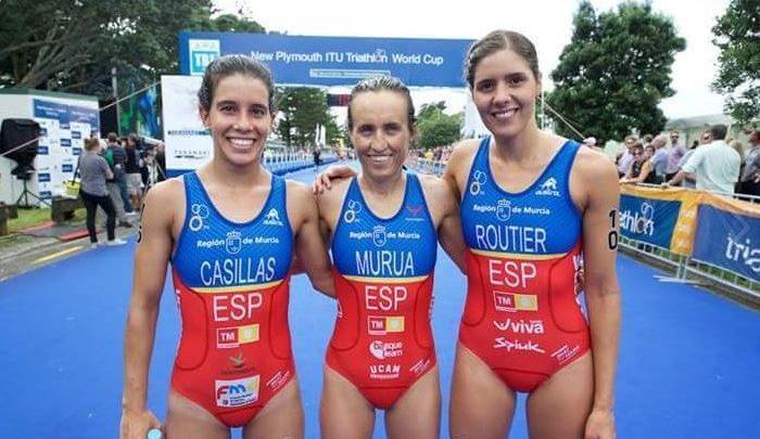 Triatlón Femenino juegos olímpicos