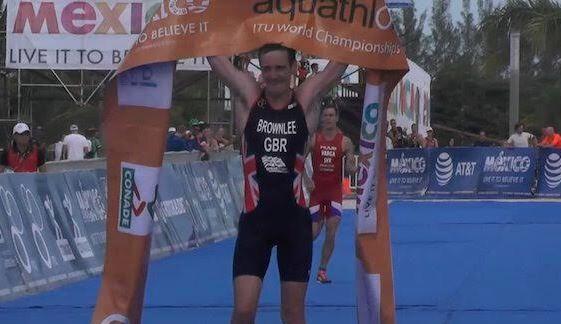 Alistair Brownlee campeón del Mundo de Acuatlón