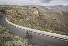 Ironman 70.3 Lanzarote cycling sector