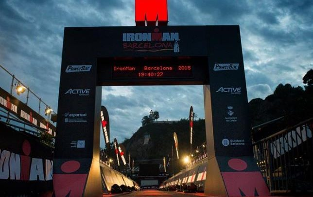 meta del Ironman Barcelona