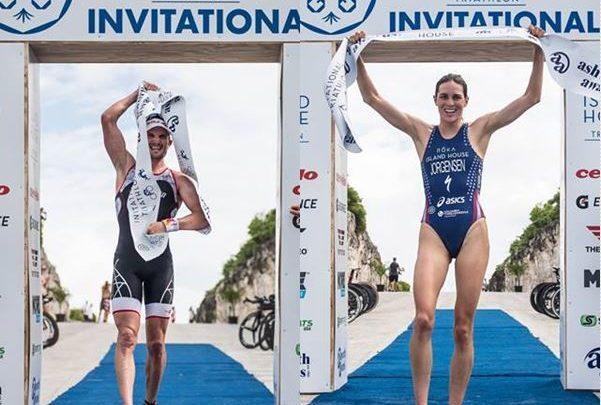 Richard Murray y Gwen Jorgensen cumplen los pronósticos y vencen en el Island House Triathlon.