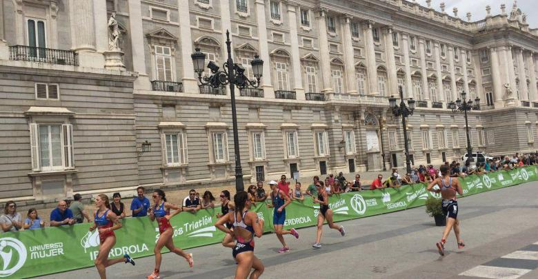 Photo of Carolina Routier sixth Antonio Serrat eighth and Anna Godoy tenth in the Madrid World Cup