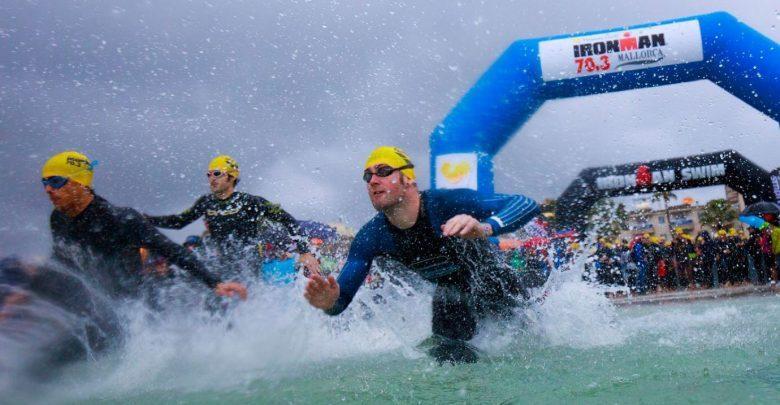 Foto von 3.500 Triathleten im Nirvana IRONMAN 70.3 Mallorca