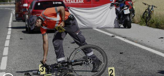 3 cyclists who died this Saturday on Spanish roads