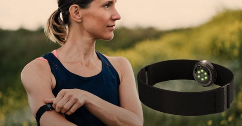 Photo of The new optical heart rate sensor, the Polar OH1