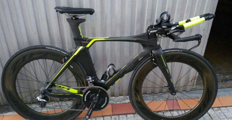 La bici de Gurutze Frades para el Ironman Kona