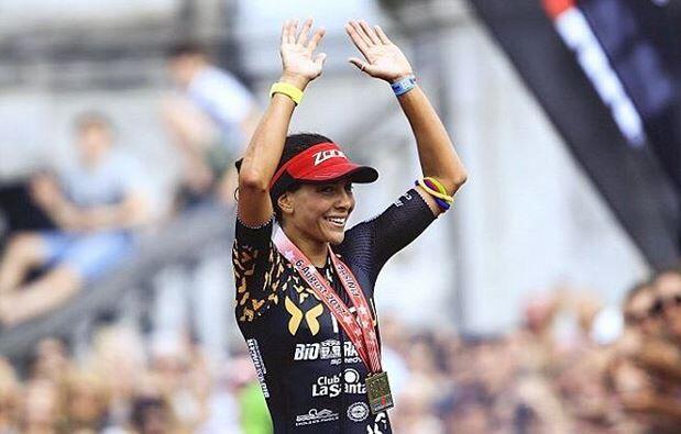 Saleta Castro fourth in the Ironman of Malaysia