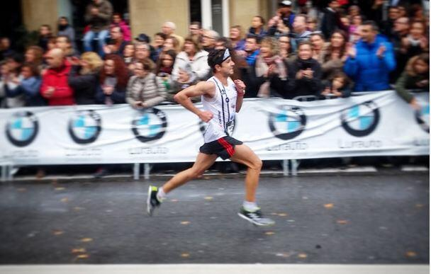 Uxío Abuín quinto en la Behobia San Sebastián