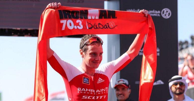 Alistair Brownlee gana el Ironman 70.3 Dubai