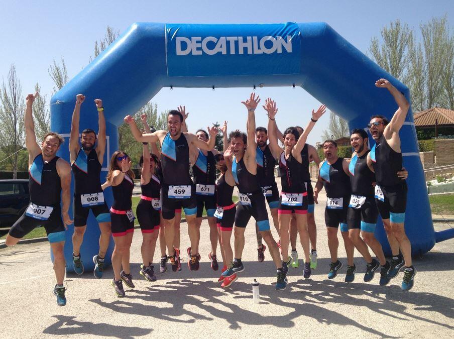 End of Decathlon Triathlon Material Presentation