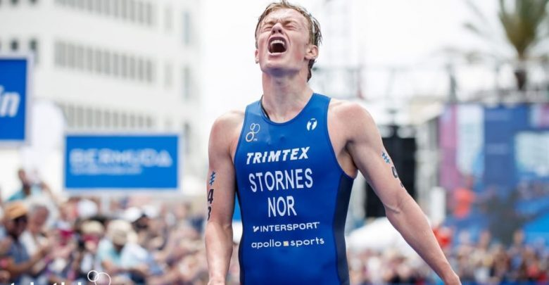 Casper Stornes da la sopresa en las Series Mundiales de Bermuda