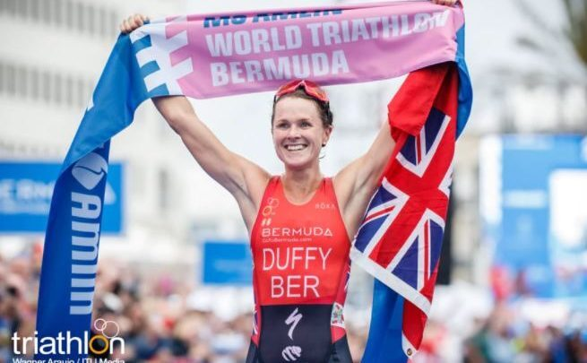 Photo of Flora Duffy wins the Bermuda World Series