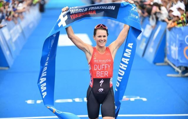 Flora Duffy wins the World Series in Yokohama and is placed as leader of the ranking