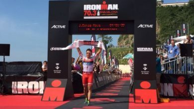 Photo of Javier Gómez Noya sweeps the Ironman 70.3 Barcelona