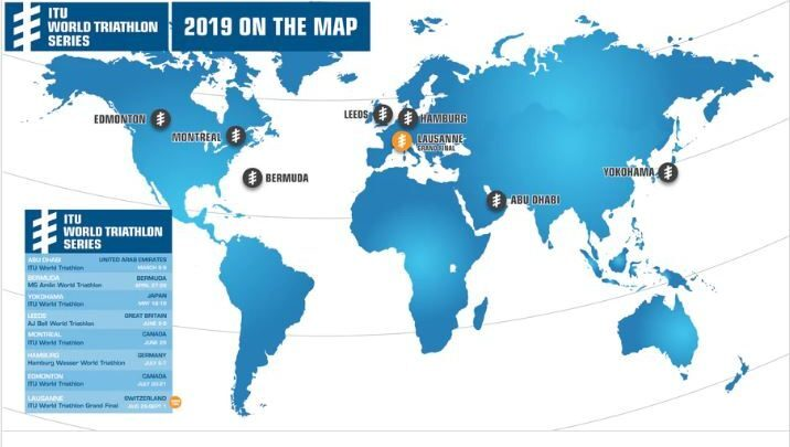 Calendario Triatlon 2019.Calendar World Series Triathlon 2019 Triathlon News