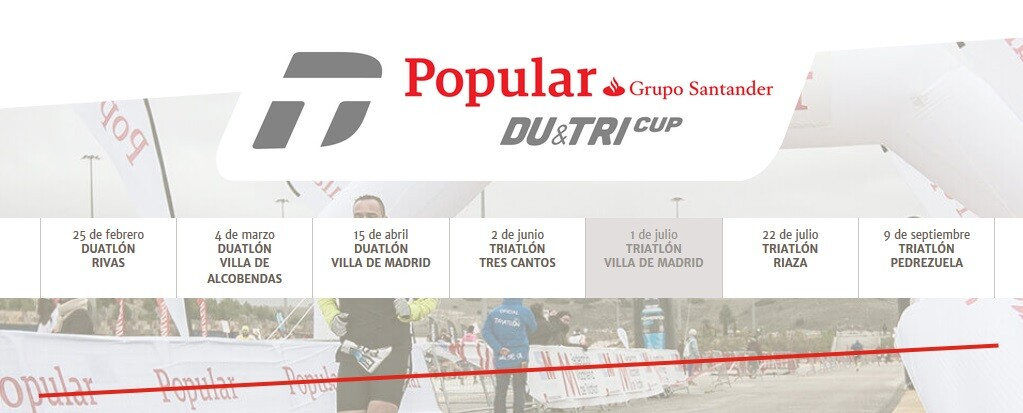 Cartel Popular Du&Tri Cup