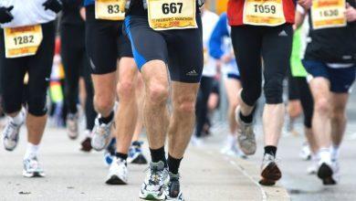 Photo of Marathon running shoes