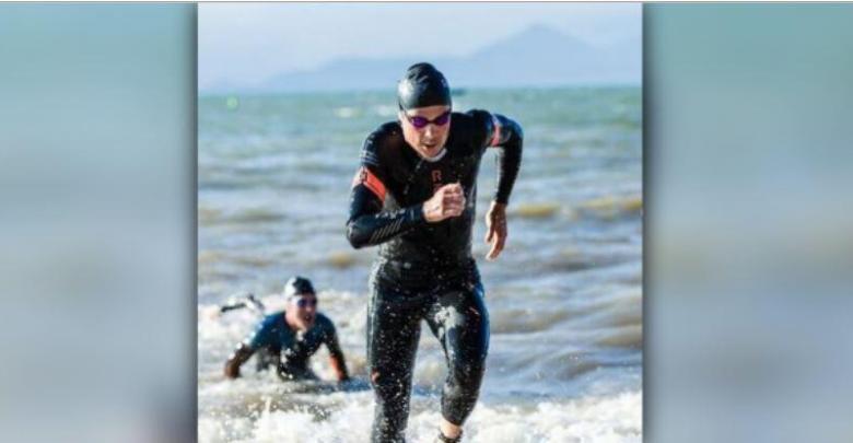 Javier Gómez Noya segundo en la Copa de Aguas abiertas de Lugo