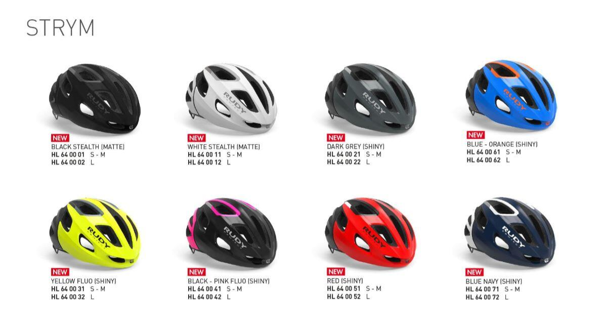 Rudy Proyect Strym helmet models
