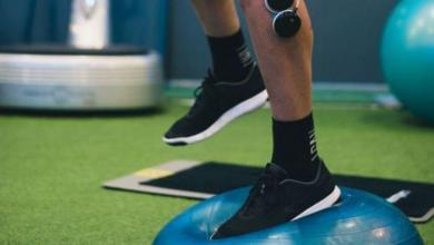 Photo of Ankle sprain prevention with Compex, proprioception works