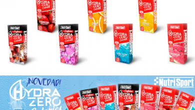 Photo of NutriSport launches its new Hydra Zero sticks in 7 different flavors