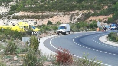 Photo of A cyclist dies in Valencia hit by a van