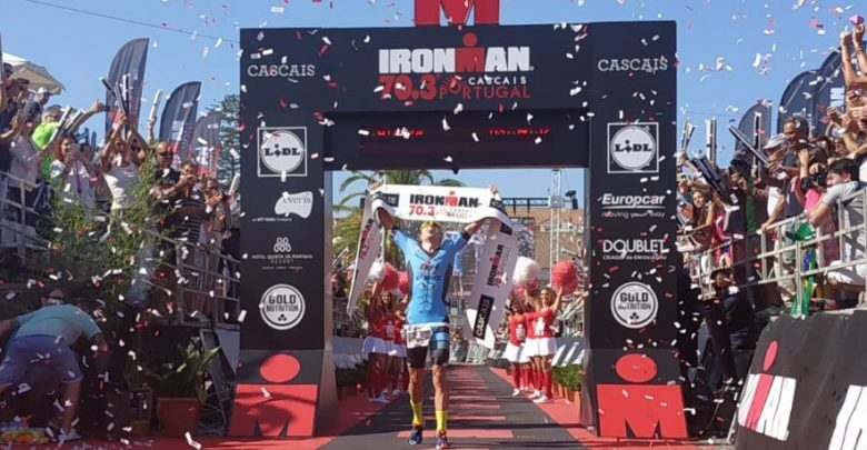 Fernando Alarza sweeps the Ironman 70.3 Cascais and qualifies for the 2019 World Championship