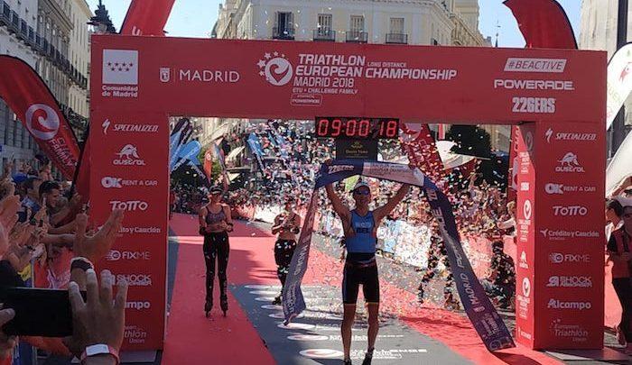 Pablo Dapena LD European Runner-up in Challenge Madrid