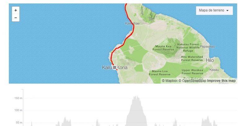 Données sur Strava du record de cyclisme Cameron Wurf dans l'Ironman d'Hawaï