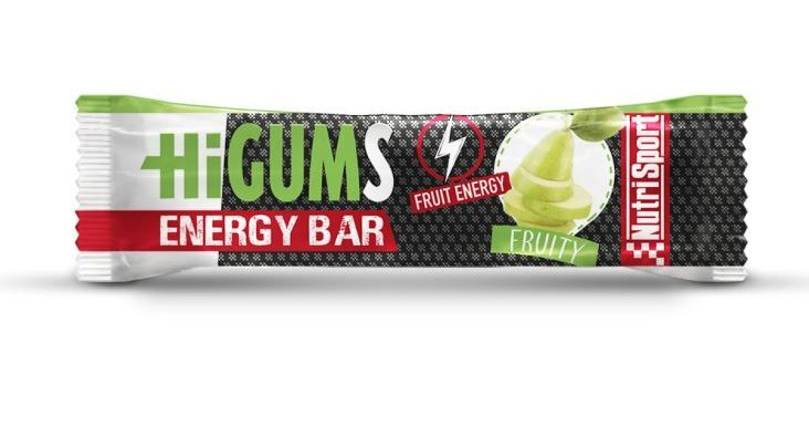 Nutrisport launches the Higums Bar, a new energy bar